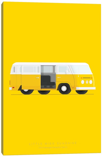 Little Miss Sunshine Canvas Art Print