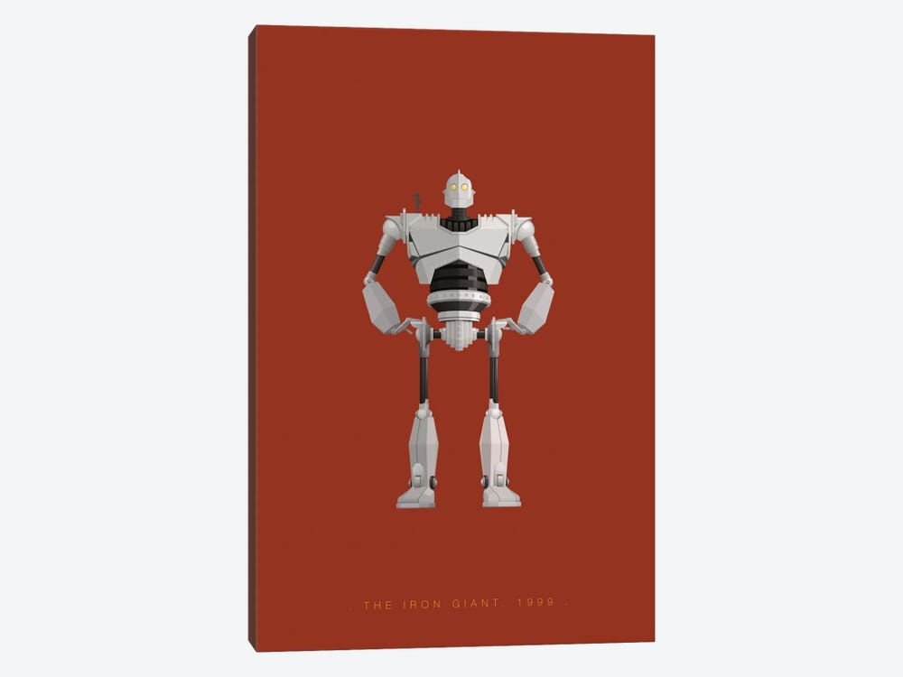 The Iron Giant by Fred Birchal 1-piece Canvas Art
