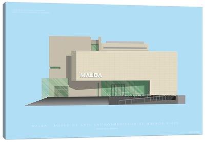 Museums Of The World Series: Museo de Arte Latinoamericano de Buenos Aires (MALBA) Canvas Print #FBI152