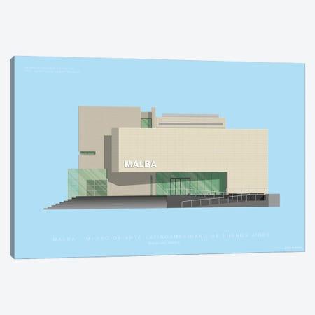 Museo de Arte Latinoamericano de Buenos Aires (MALBA) Canvas Print #FBI152} by Fred Birchal Canvas Art