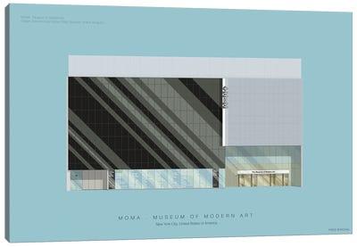 Museums Of The World Series: Museum Of Modern Art Canvas Print #FBI154