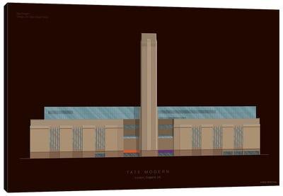 Museums Of The World Series: Tate Modern Canvas Print #FBI156