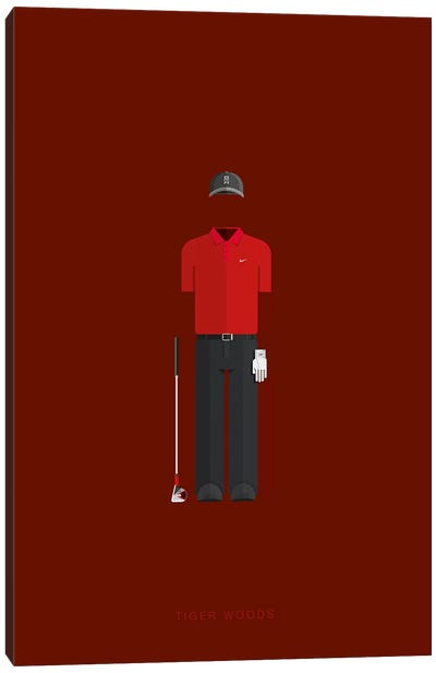 Tiger Woods Canvas Art Print