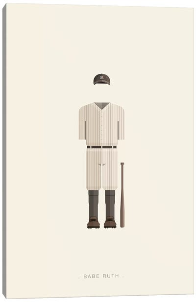 Babe Ruth Canvas Art Print