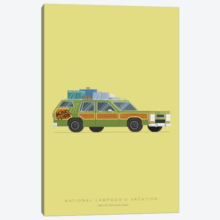 National Lampoon's Vacation Canvas Print #FBI16} by Fred Birchal Art Print