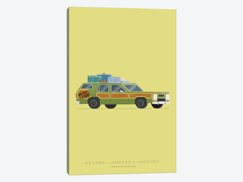 National Lampoon's Vacation by Fred Birchal 1-piece Art Print