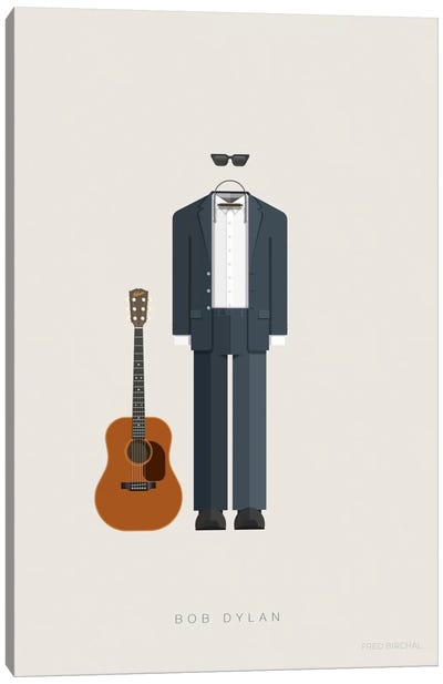 Bob Dylan Canvas Art Print