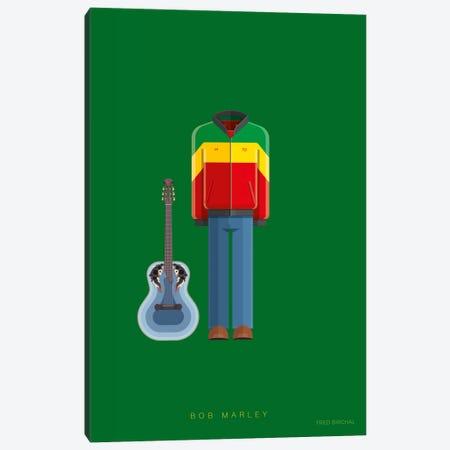 Bob Marley Canvas Print #FBI174} by Fred Birchal Canvas Art Print