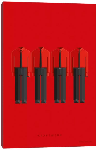 Kraftwerk Canvas Art Print