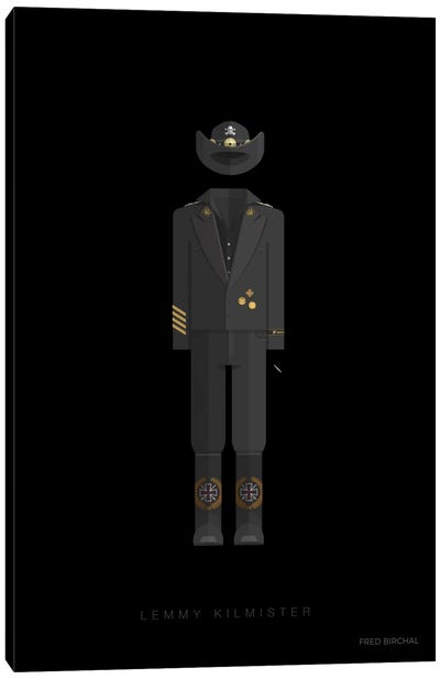 Lemmy Kilmister Canvas Art Print