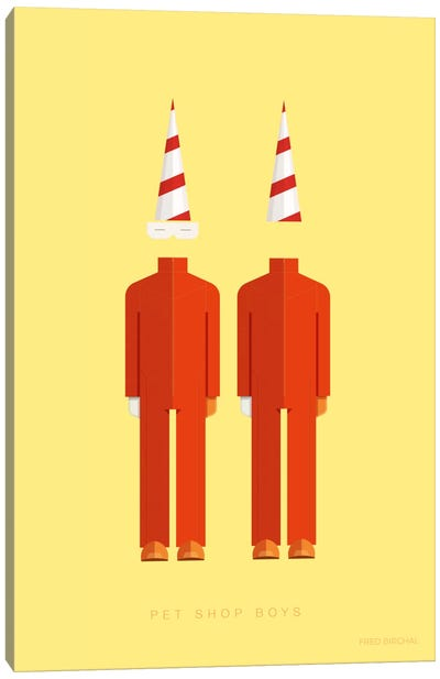 Pet Shop Boys Canvas Art Print