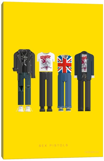 Sex Pistols Canvas Art Print