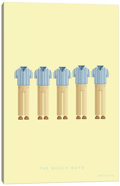 The Beach Boys Canvas Art Print