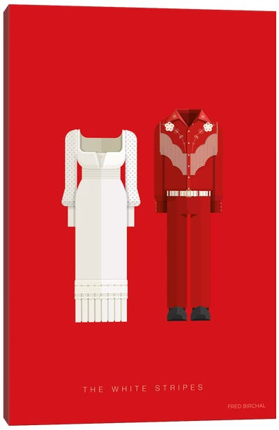 The White Stripes Canvas Art Print