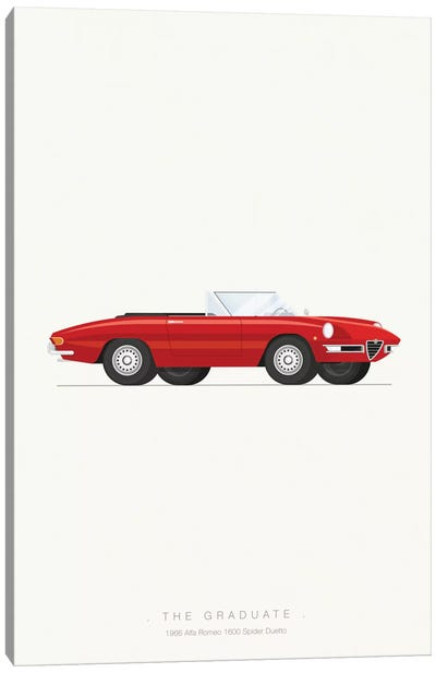 Famous Cars Series: The Graduate Canvas Art Print