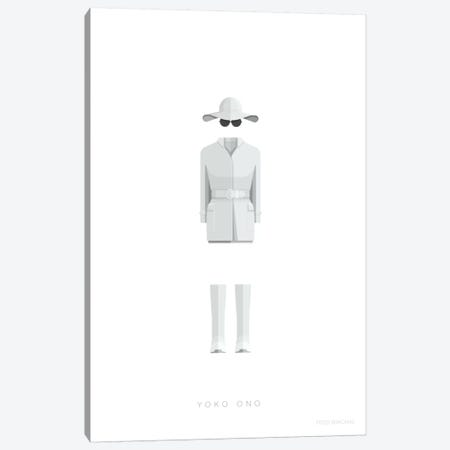 Yoko Ono Canvas Print #FBI200} by Fred Birchal Canvas Wall Art