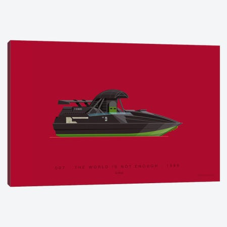 On Board I Canvas Print #FBI202} by Fred Birchal Canvas Art