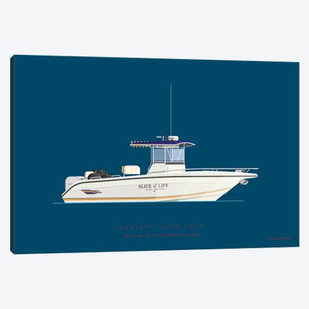 On Board II 3-Piece Canvas #FBI203} by Fred Birchal Canvas Art