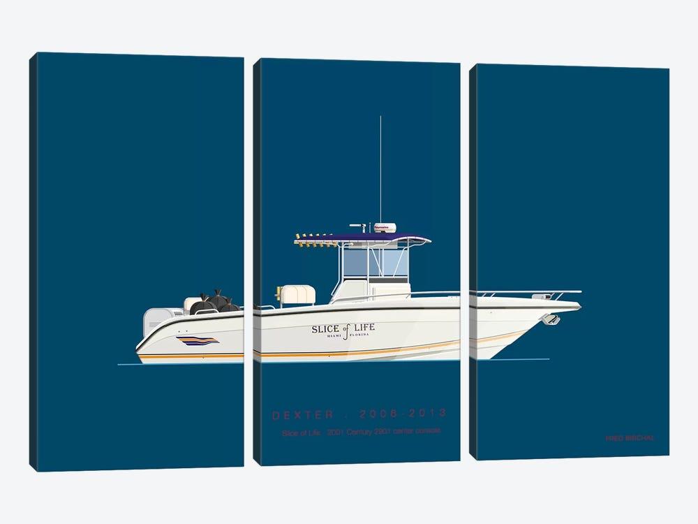 On Board II by Fred Birchal 3-piece Canvas Art Print