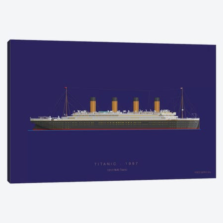 On Board X Canvas Print #FBI209} by Fred Birchal Canvas Artwork