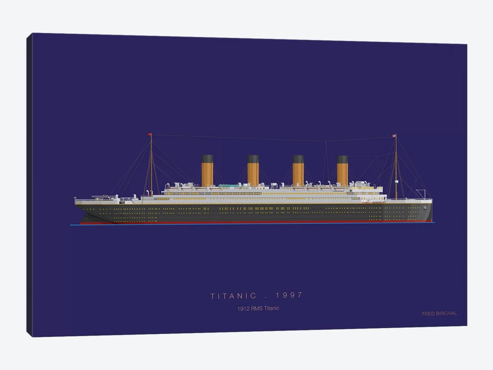 On Board X by Fred Birchal 1-piece Art Print