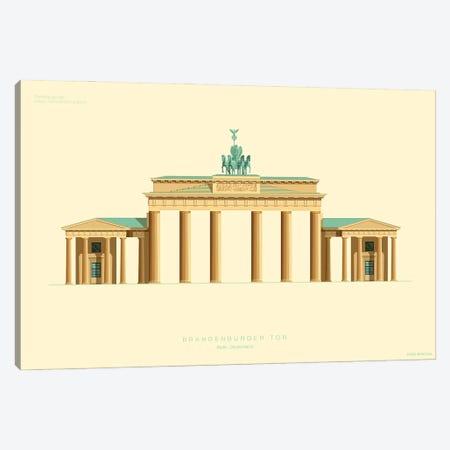 Brandenburg Gate Berlin, Germany Canvas Print #FBI214} by Fred Birchal Canvas Artwork