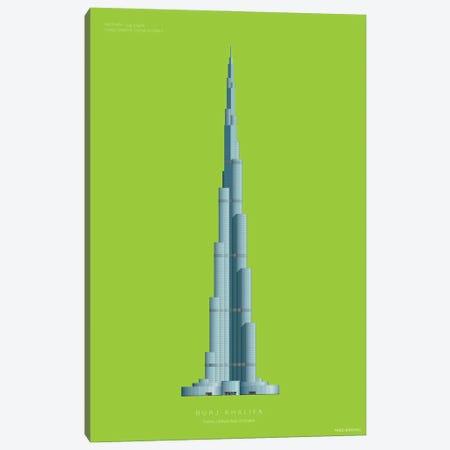 Burj Khalifa Dubai, United Arab Emirates Canvas Print #FBI215} by Fred Birchal Canvas Wall Art
