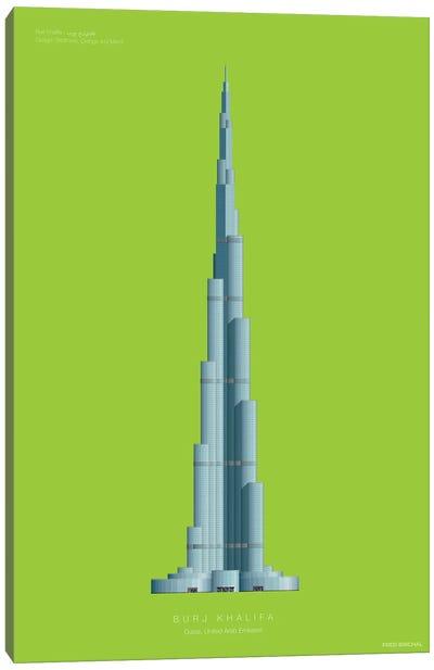 Burj Khalifa Dubai, United Arab Emirates Canvas Art Print