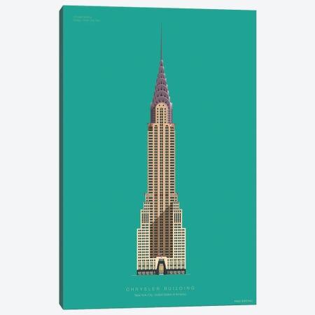 Chrysler Building New York City, Usa Canvas Print #FBI216} by Fred Birchal Canvas Art