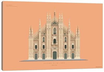 Duomo Di Milano Milan, Italy Canvas Art Print