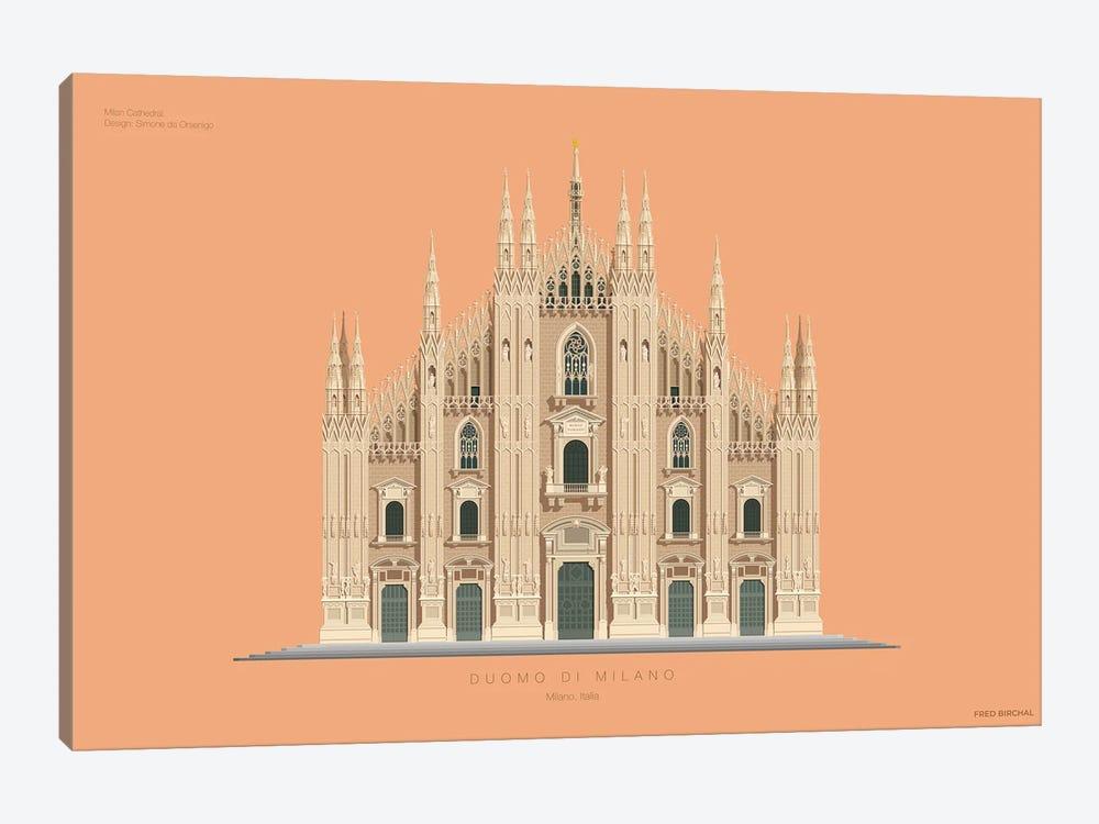 Duomo Di Milano Milan, Italy by Fred Birchal 1-piece Canvas Wall Art