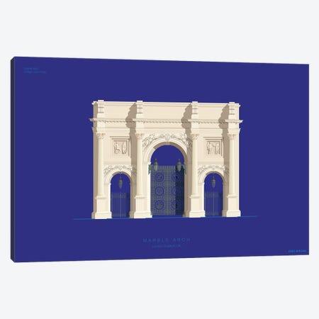 Marble Arch London, England Canvas Print #FBI221} by Fred Birchal Canvas Artwork