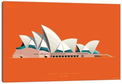 Sydney Opera House Sydney, Australia Canvas Art Print