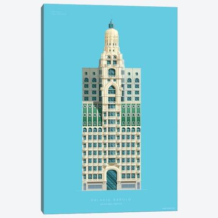 Palacio Barolo Buenos Aires, Argentina 3-Piece Canvas #FBI227} by Fred Birchal Canvas Print