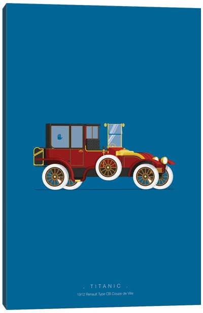 Famous Cars Series: Titanic Canvas Print #FBI22
