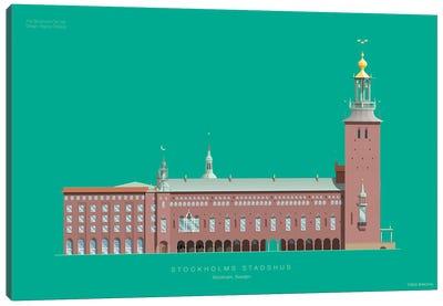 The Stockholm City Hall Stockholm, Sweden Canvas Art Print