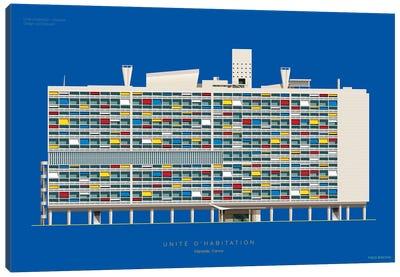 Le Corbusier Unité D'Habitation Marseille, France Canvas Art Print