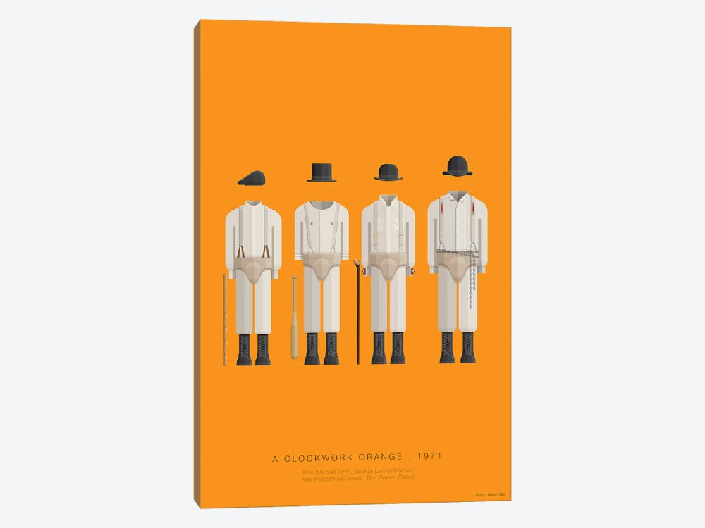 A Clockwork Orange by Fred Birchal 1-piece Art Print