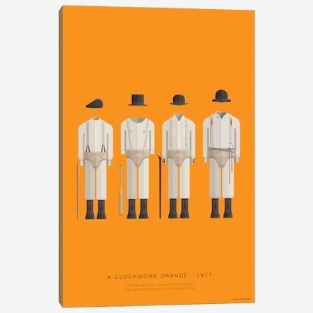 A Clockwork Orange Canvas Print #FBI23} by Fred Birchal Art Print