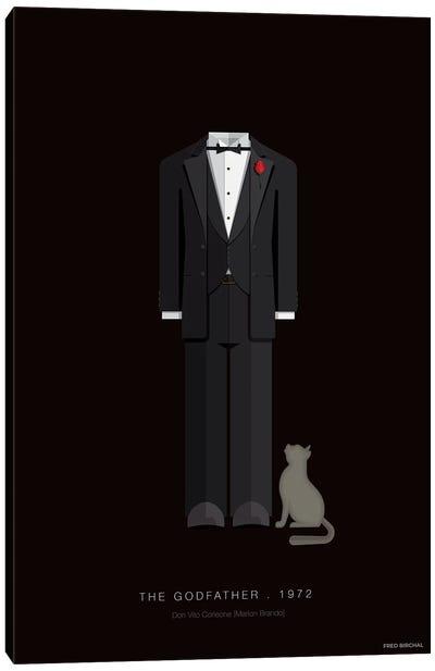 The Godfather Don Vito Corleone Canvas Art Print
