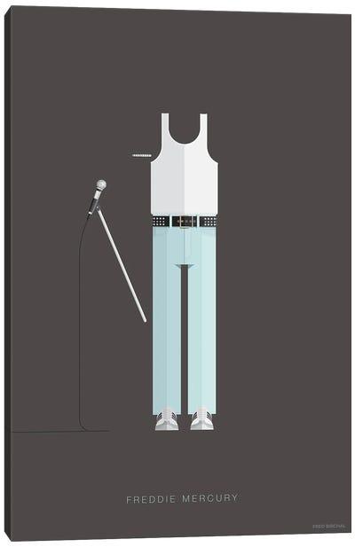 Freddy Mercury Live Aid Canvas Art Print