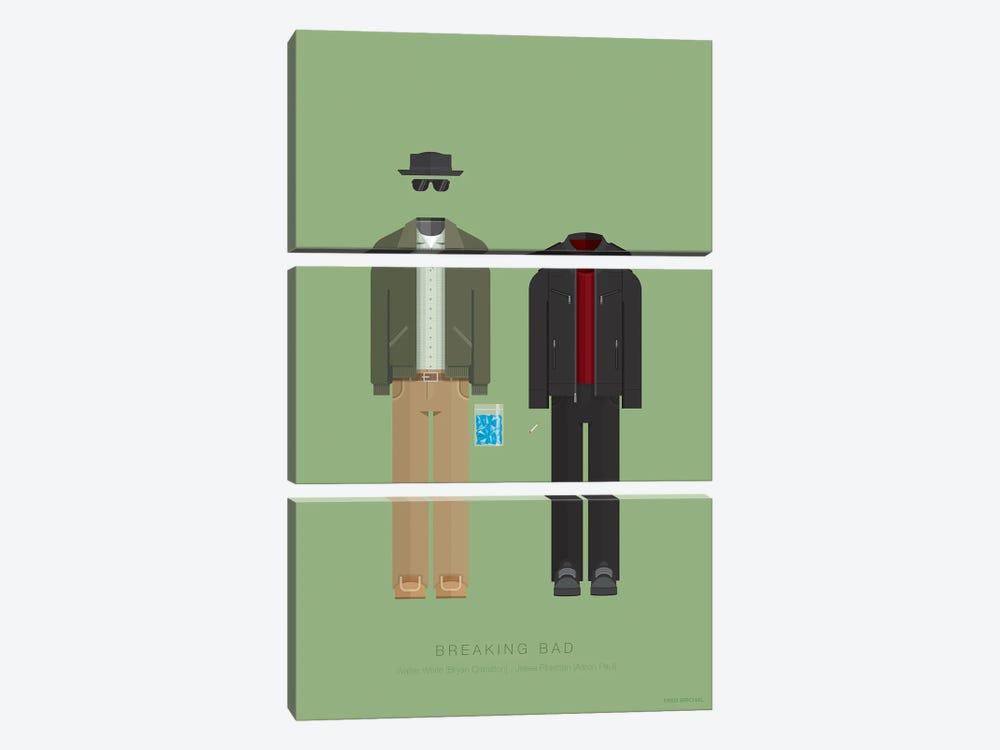 Breaking Bad Season 5 by Fred Birchal 3-piece Canvas Print