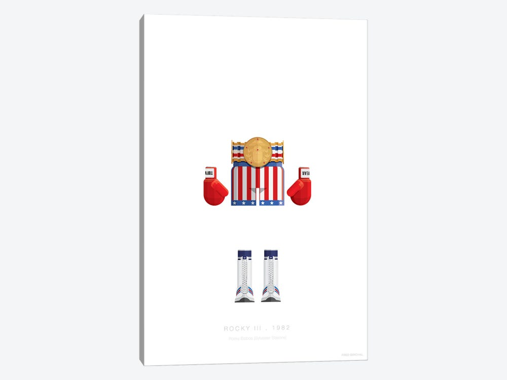 Rocky III by Fred Birchal 1-piece Canvas Print