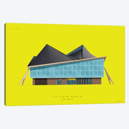 The Design Museum Canvas Print #FBI261} by Fred Birchal Canvas Art