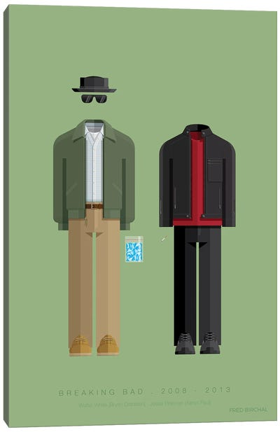 Breaking Bad - Walter And Jesse Canvas Art Print