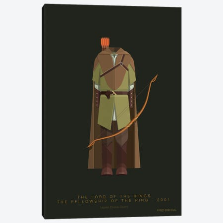 The Lord Of The Rings - Legolas Canvas Print #FBI272} by Fred Birchal Canvas Print
