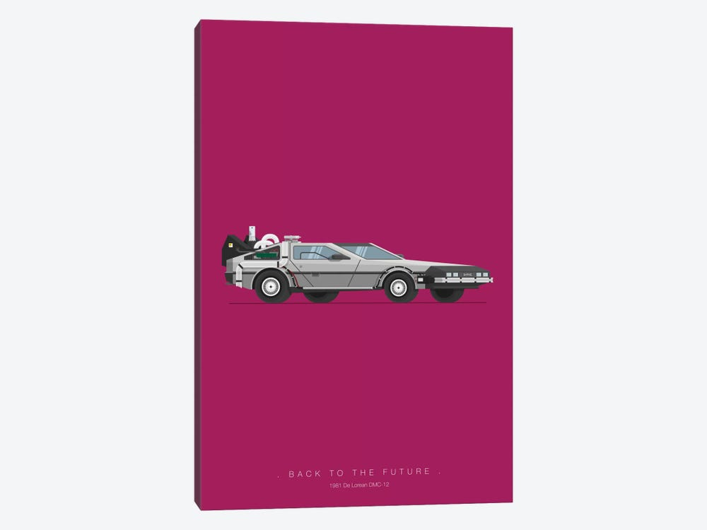 Back To The Future by Fred Birchal 1-piece Art Print