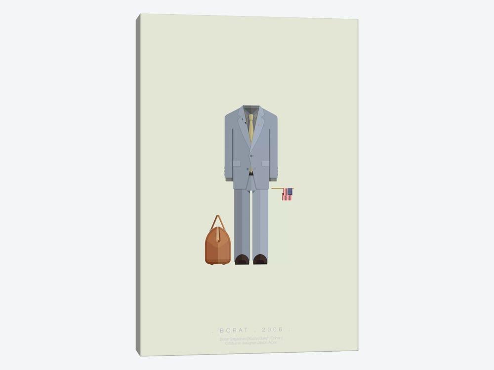 Borat by Fred Birchal 1-piece Canvas Art