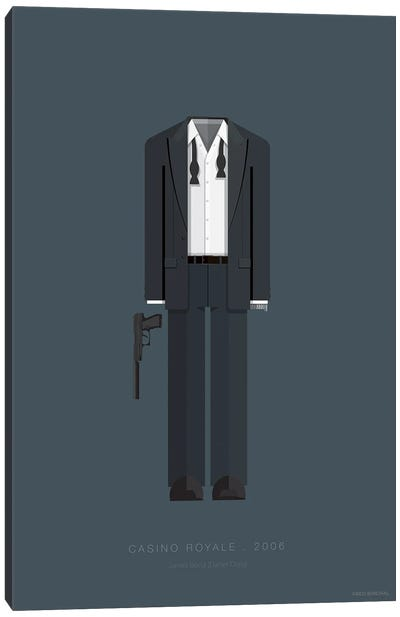 Famous Hollywood Costumes Series: Casino Royale Canvas Art Print