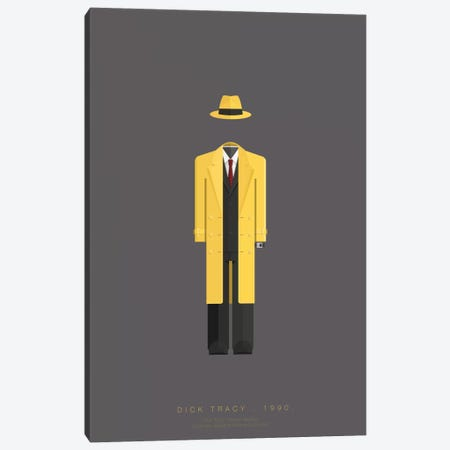 Dick Tracy Canvas Print #FBI38} by Fred Birchal Canvas Art
